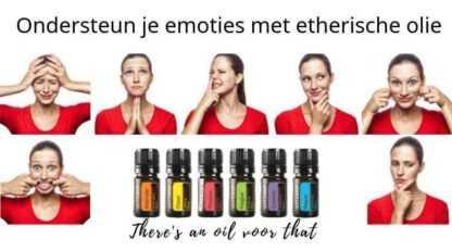 ondersteun je emoties met etherische olie