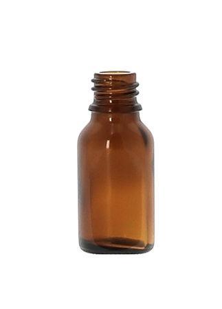 15ml amberkleurige glazen fles 18DIN