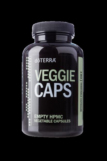 vegetarische capsulles om etherische olie intern in te nemen