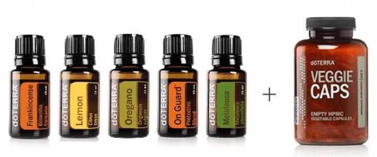 imuunsysteem boost mengeling van doterra etherische olie